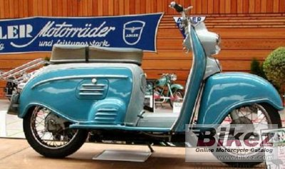1956 Adler Junior 100 Luxus