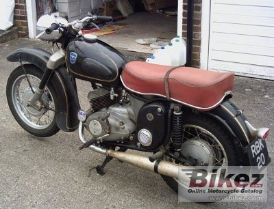 1958 Adler MBS 250 Favorit