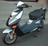 2007 Adly Thunder Bike 100