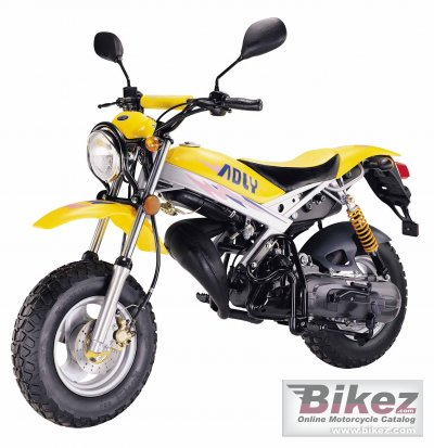 2007 Adly Road Tracer 90