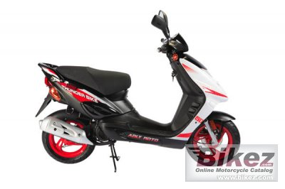 2007 Adly Thunder bike 150