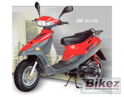 2008 Adly Jet 50