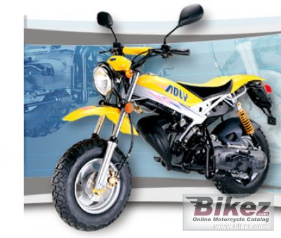 2008 Adly Road Tracer 90
