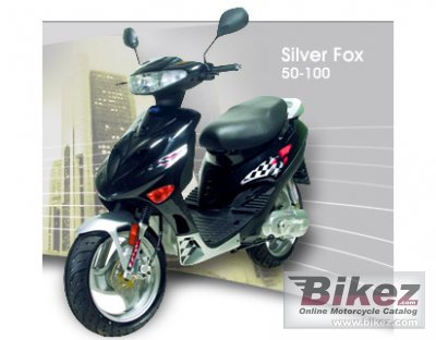 2008 Adly Silver Fox 100