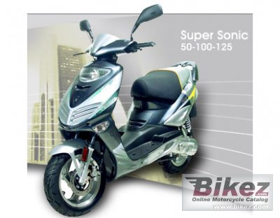 2008 Adly Super Sonic 125