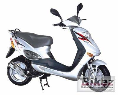 2008 Adly Thunder Bike 50