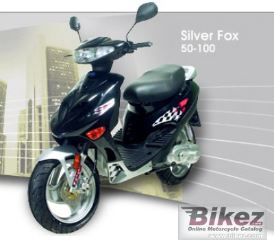 2010 Adly SF-100 Silver Fox photo