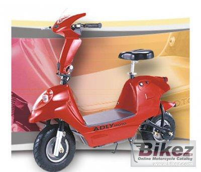 2010 Adly FC-25 II 2nd Gen E-bike