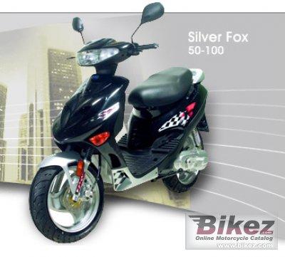 2010 Adly SF-50 Silver Fox