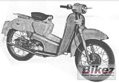 1956 Aermacchi HD 125 Zeffiro