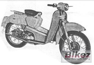 1959 Aermacchi HD 125 Zeffiro