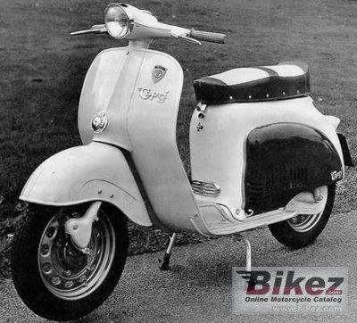 1962 Agrati Capri 50