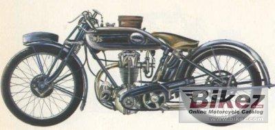 1928 AJS G6 Bigport