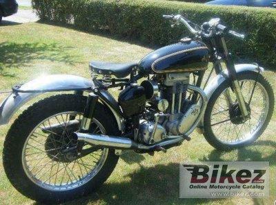 1952 AJS Model 16 350MS