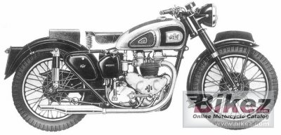 1953 AJS Model 20 500
