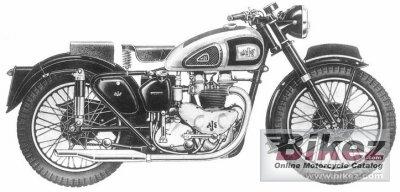 1955 AJS Model 20 500