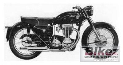 1960 AJS Model 18 500 Statesman