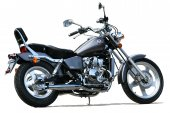 2008 AJS Regal-Raptor 125 Silverhawk