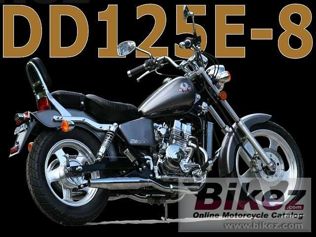 AJS Regal-Raptor DD125E-8 Silverhawk