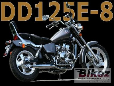 2009 AJS Regal-Raptor DD125E-8 Silverhawk