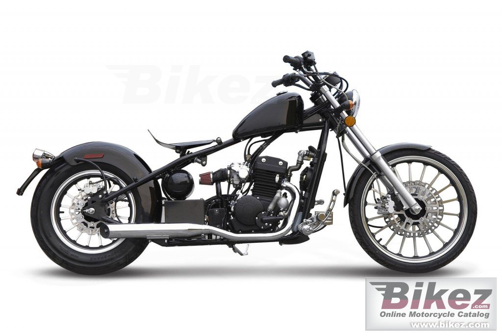 Big AJS bobber 125 picture and wallpaper from Bikez.com