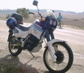 1987 Aprilia Tuareg Rally 350 photo
