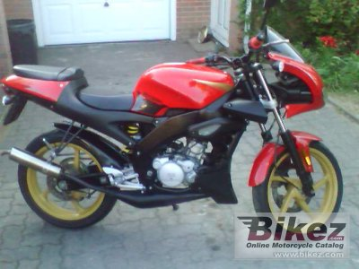 2003 Aprilia RS 50 Tuono specifications and pictures