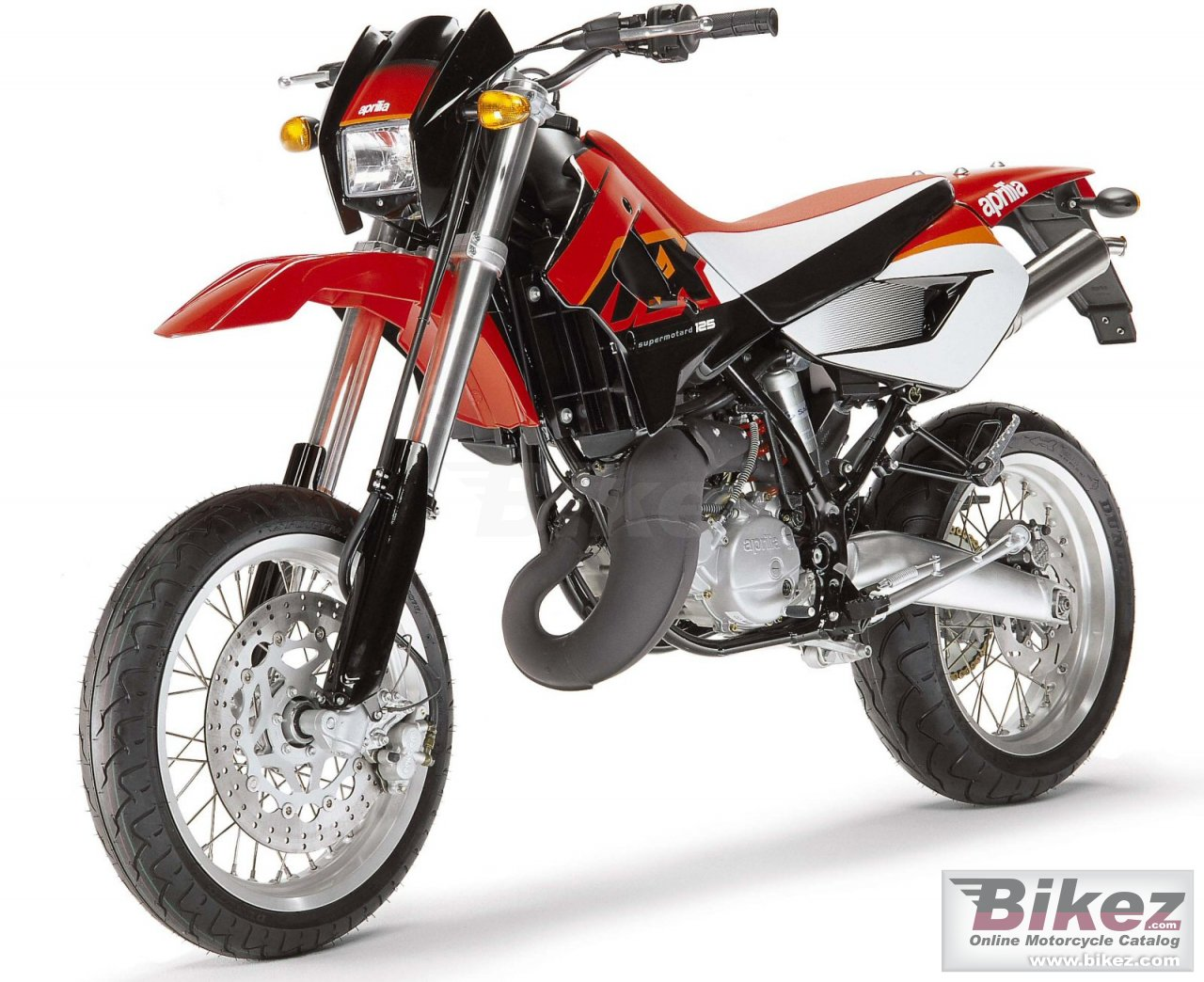 Big Aprilia mx 125 picture and wallpaper from Bikez.com