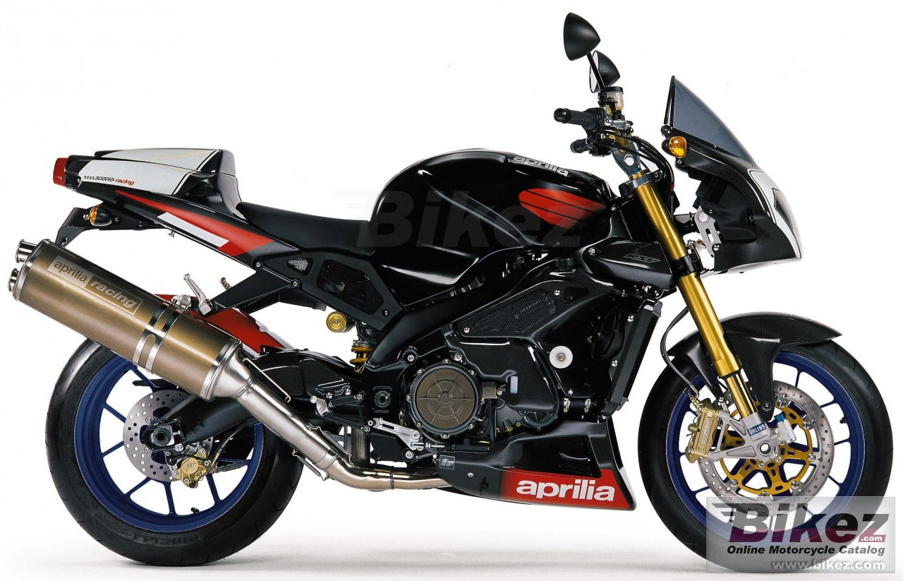 Big Aprilia tuono 1000 r factory picture and wallpaper from Bikez.com