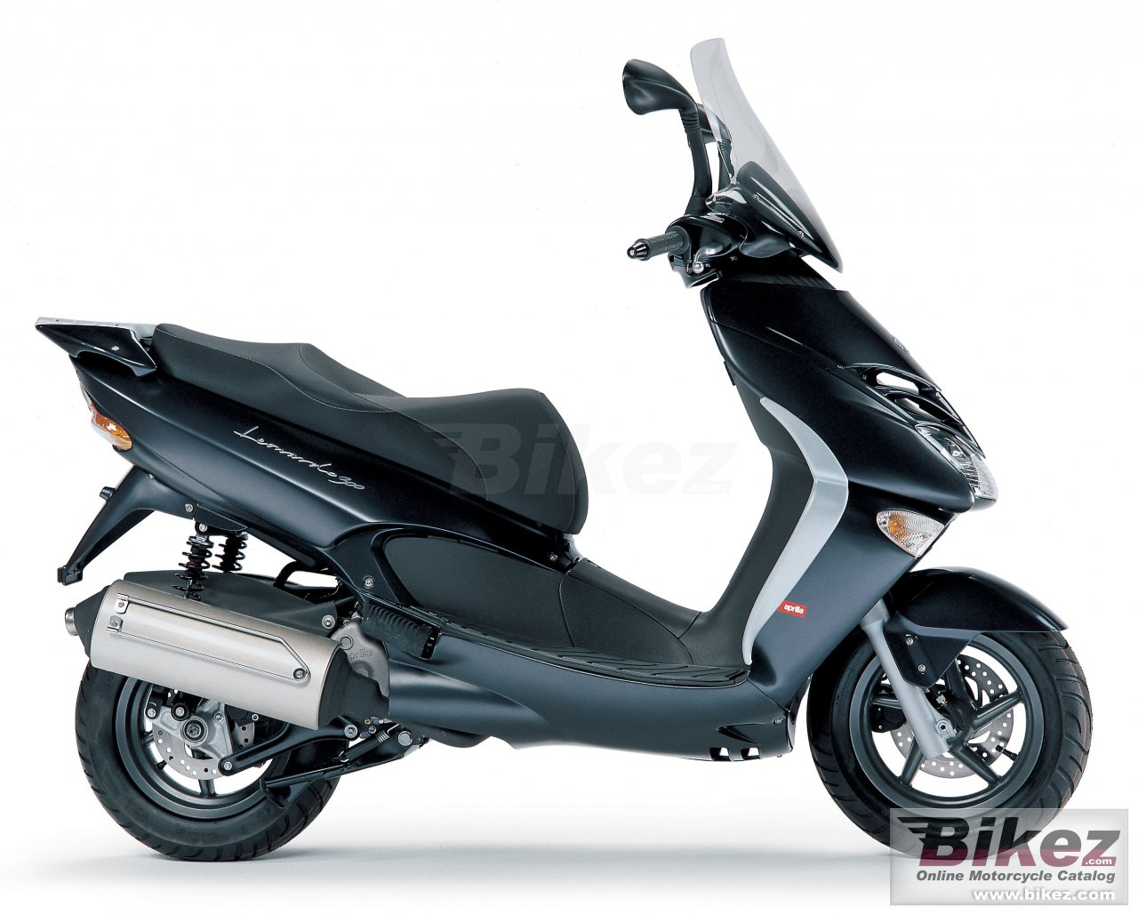 Big Aprilia leonardo 125 picture and wallpaper from Bikez.com
