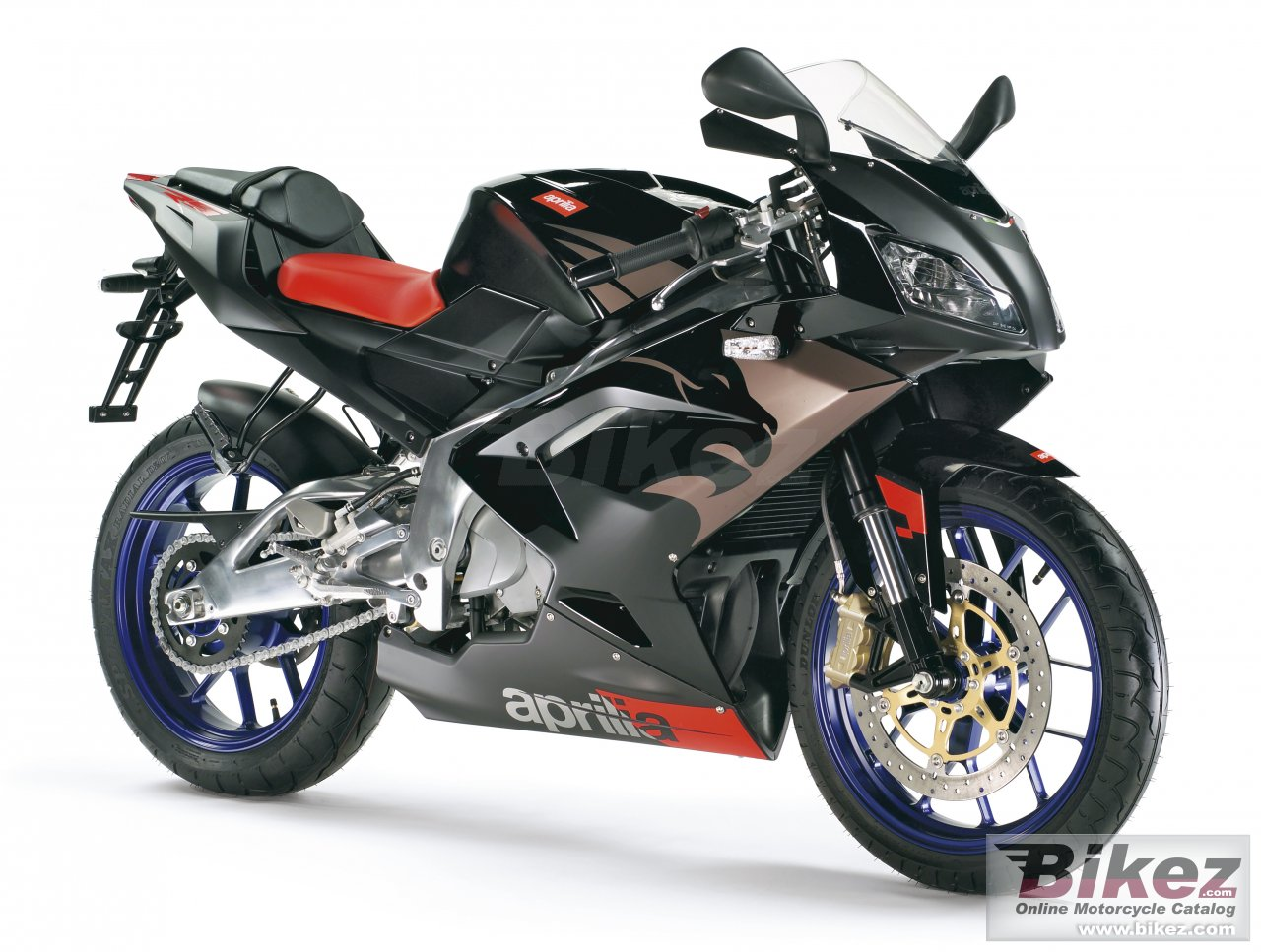 Big Aprilia rs 125 picture and wallpaper from Bikez.com