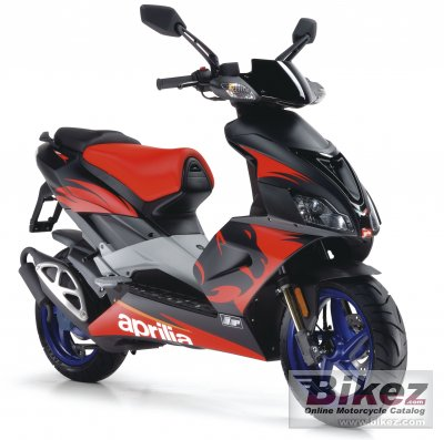 2007 aprilia sr 50 r factory specifications and pictures. Black Bedroom Furniture Sets. Home Design Ideas