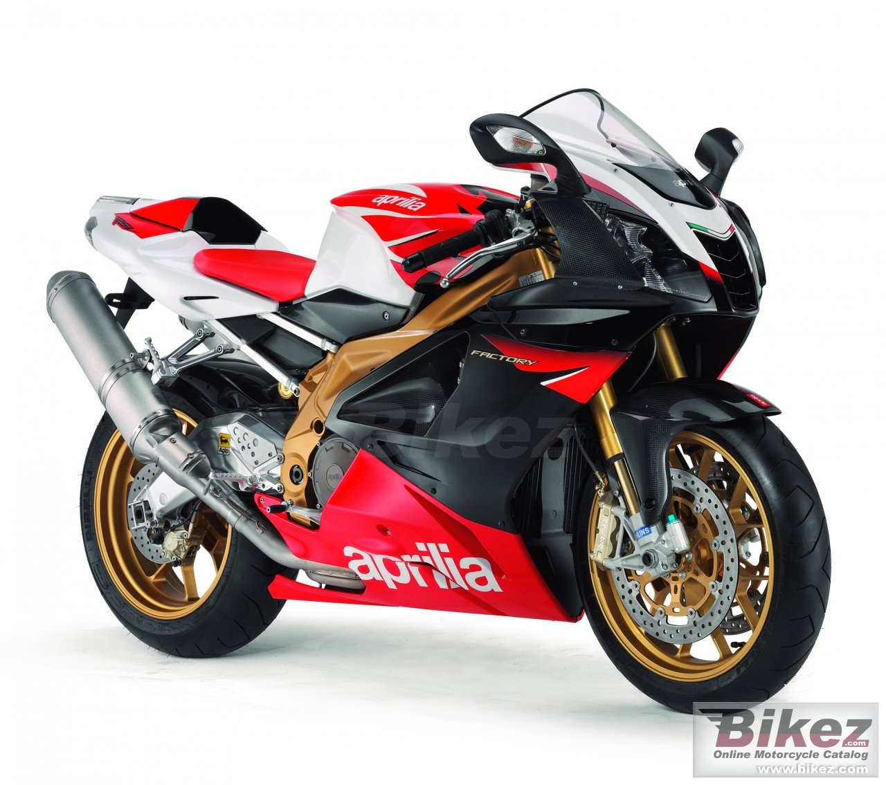 Big Aprilia rsv 1000 r factory picture and wallpaper from Bikez.com