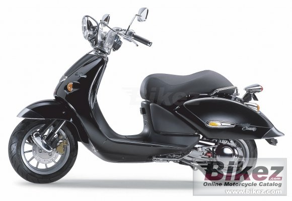 2008 Aprilia Mojito 50 Custom
