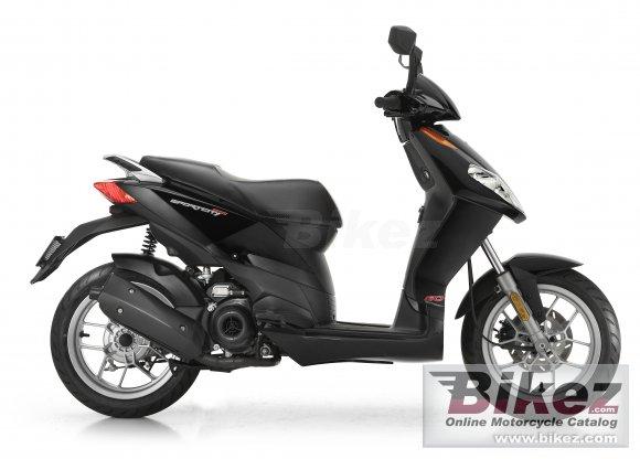 2009 Aprilia SportCity One 50 2T
