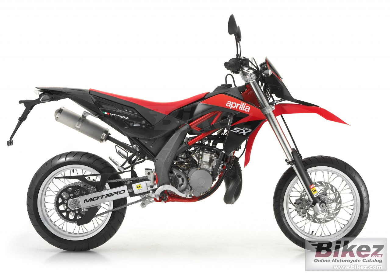 Big Aprilia sx 125 picture and wallpaper from Bikez.com