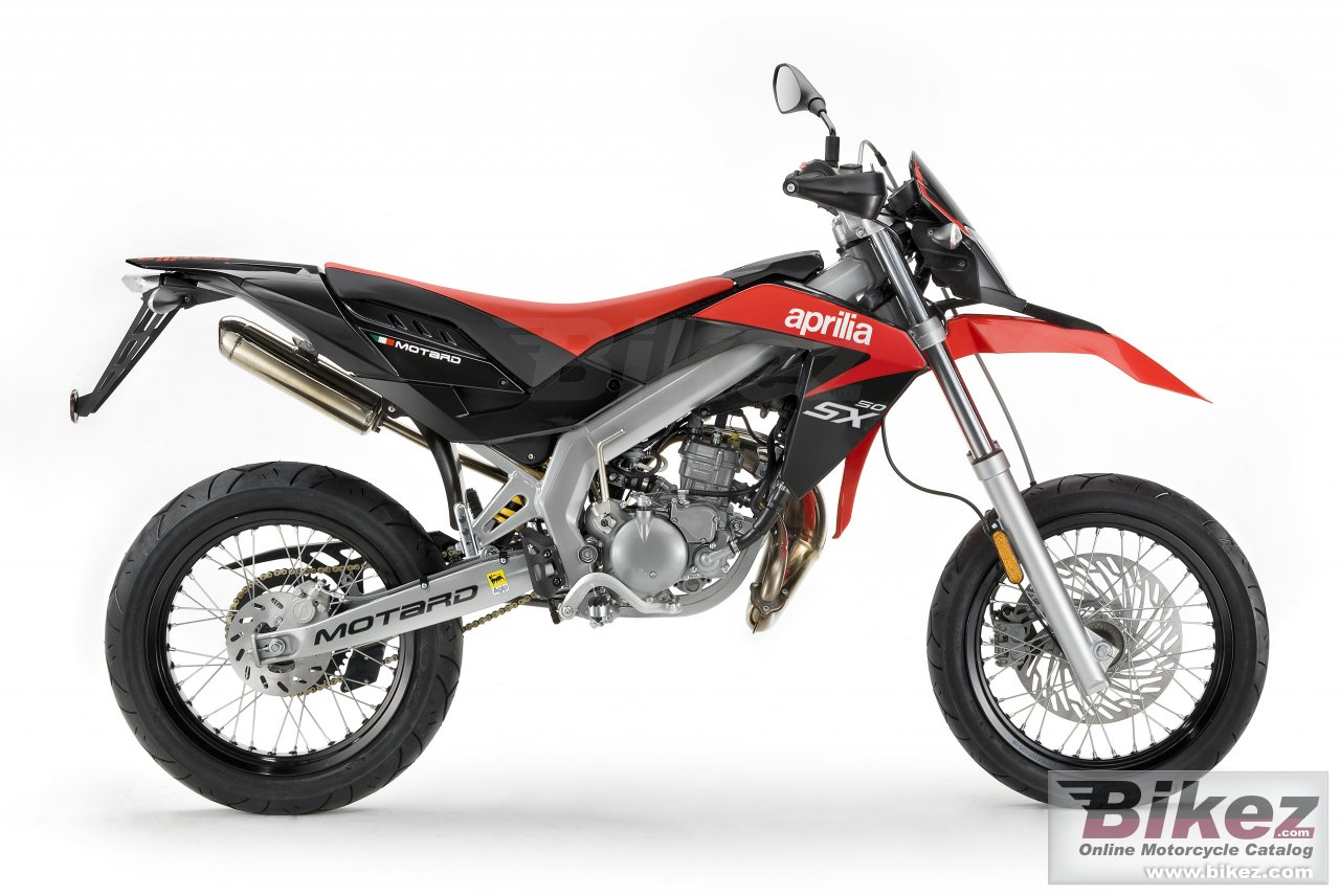 Big Aprilia sx 50 picture and wallpaper from Bikez.com