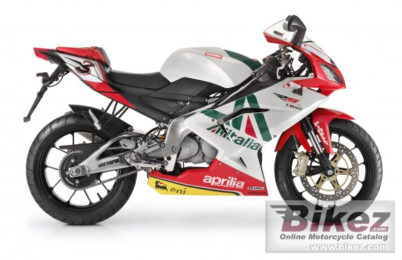 2011 Aprilia RS 125 Replica Alitalia photo
