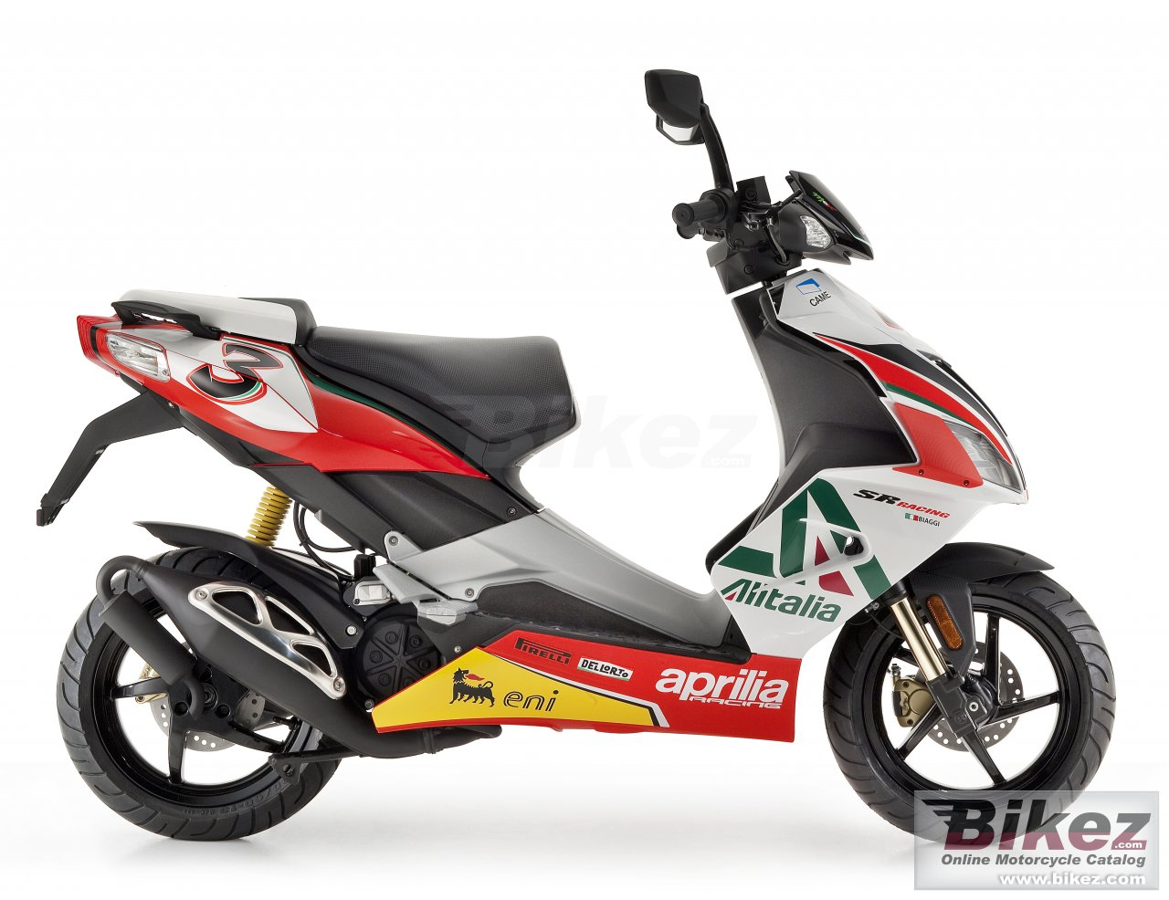 Big Aprilia sr 50 r replica sbk picture and wallpaper from Bikez.com