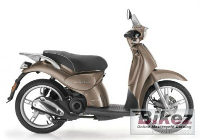 2012 Aprilia Scarabeo 50 4T 4V
