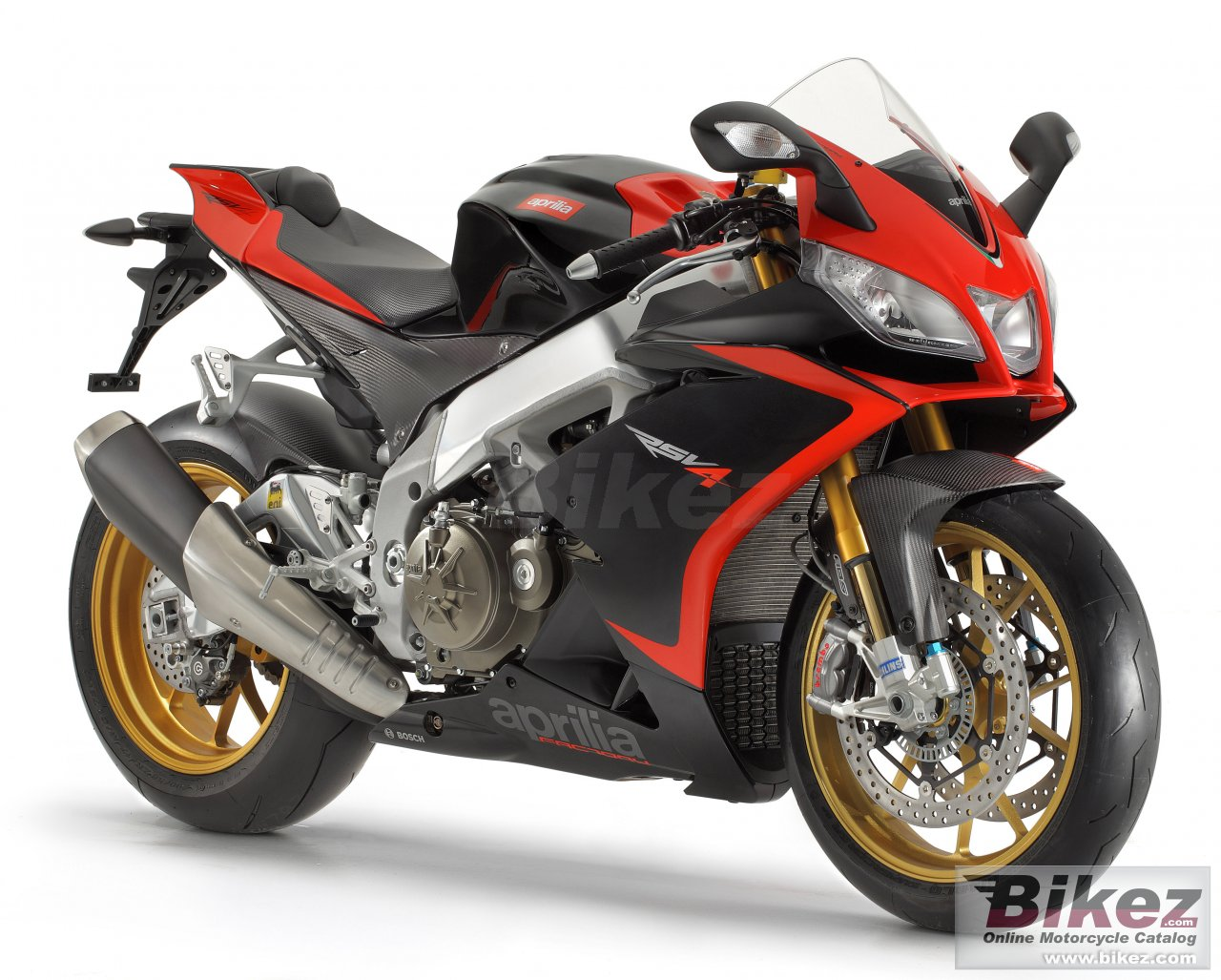 Big Aprilia rsv4 factory aprc picture and wallpaper from Bikez.com