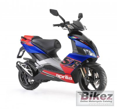 2013 Aprilia SR 50 R Factory specifications and pictures