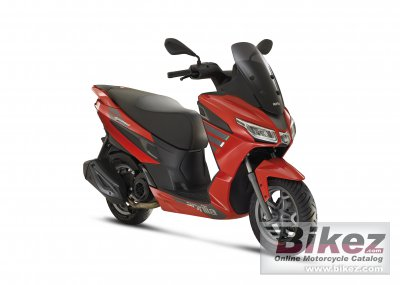 2021 Aprilia SXR 50