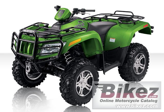 Big Arctic Cat 700 h1 efi le picture and wallpaper from Bikez.com