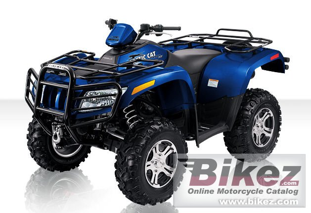 Big Arctic Cat 700 s ltd picture and wallpaper from Bikez.com
