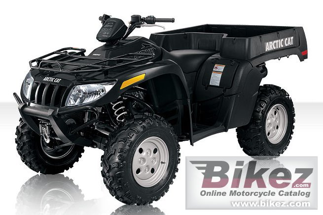 Big Arctic Cat tbx 700 h1 efi picture and wallpaper from Bikez.com