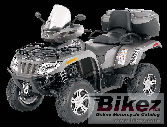 Big Arctic Cat trv 700 cruiser picture and wallpaper from Bikez.com