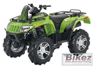 2012 Arctic Cat MudPro 700i photo