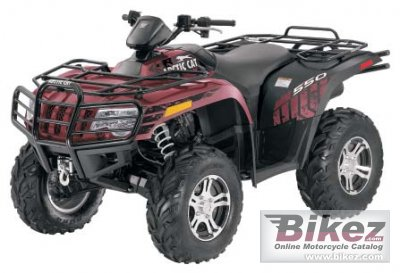 2012 Arctic Cat 550i LTD photo