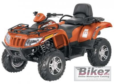 2012 Arctic Cat TRV 450i GT photo